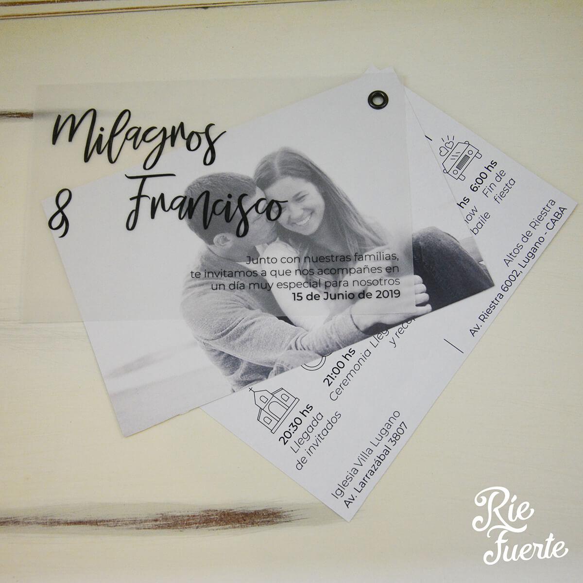 Casamiento Milagros y Francisco A
